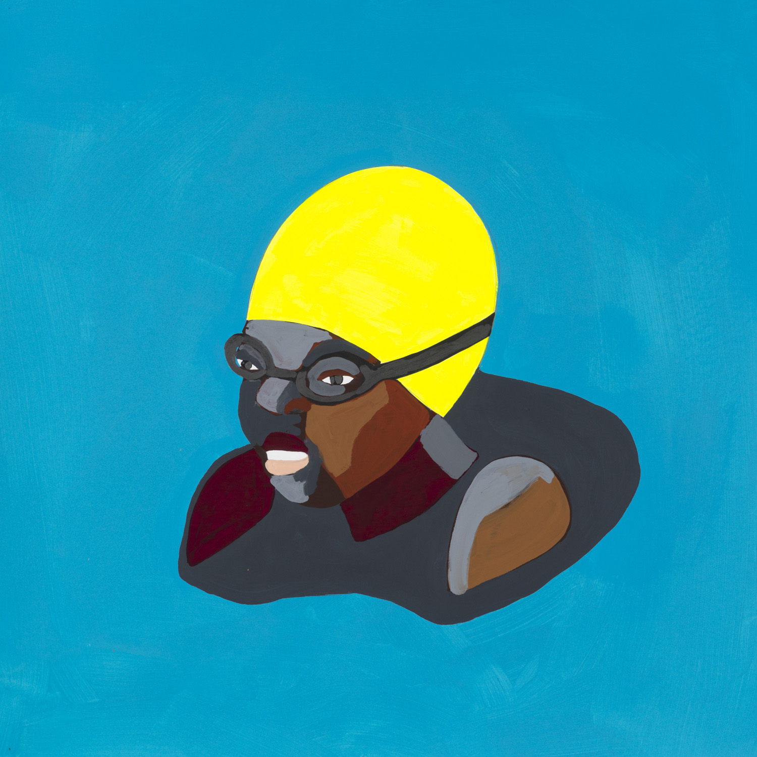 Floater 55 (yellow swimcap)