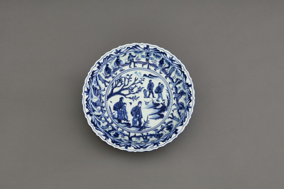 Blue-and-White Porcelain (The Journey)