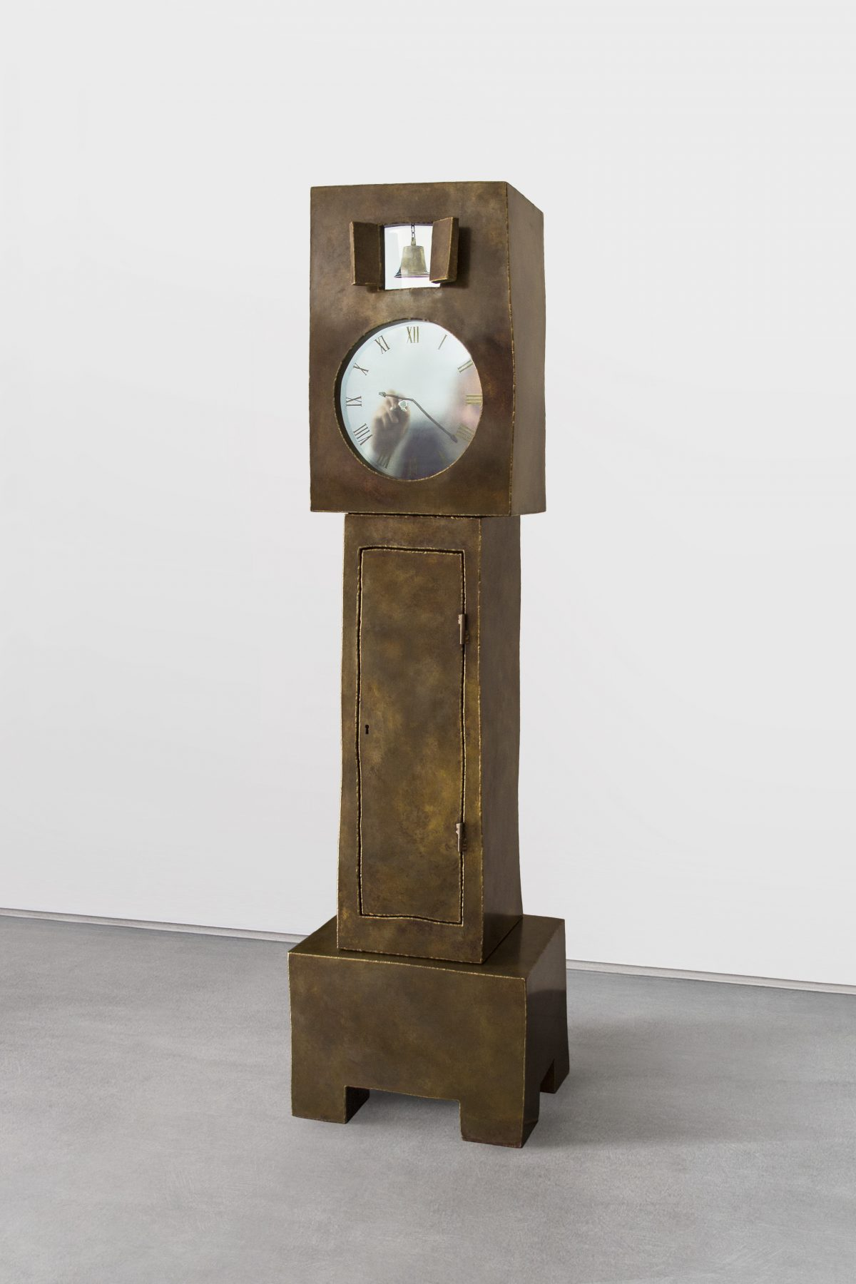 Grandfather Clock Brass