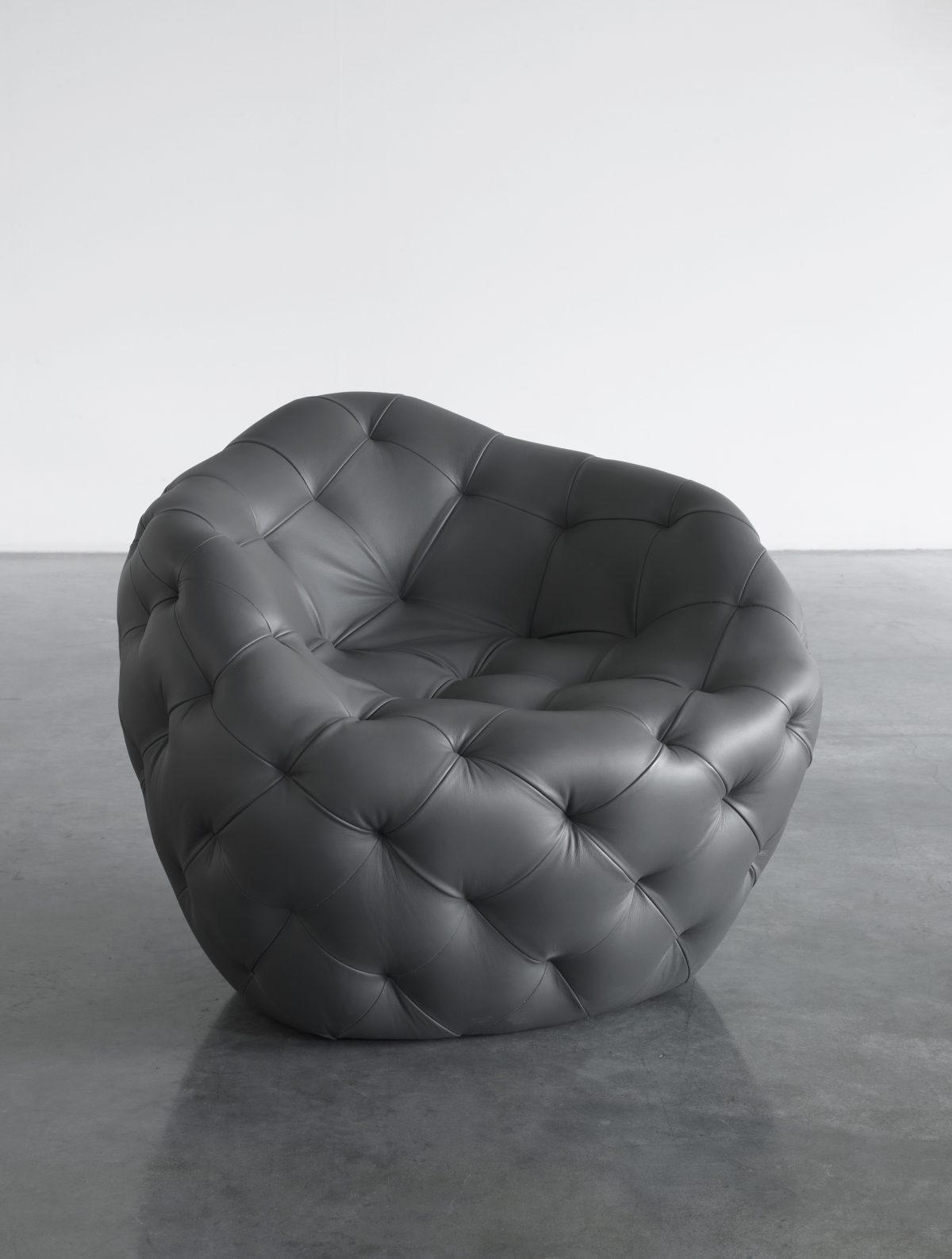 Spherical Bomb Armchair (Dark Gray)